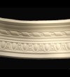 Large Egg and Dart Curved Cornice