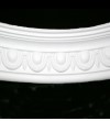 Small Egg and Dart Curved Cornice